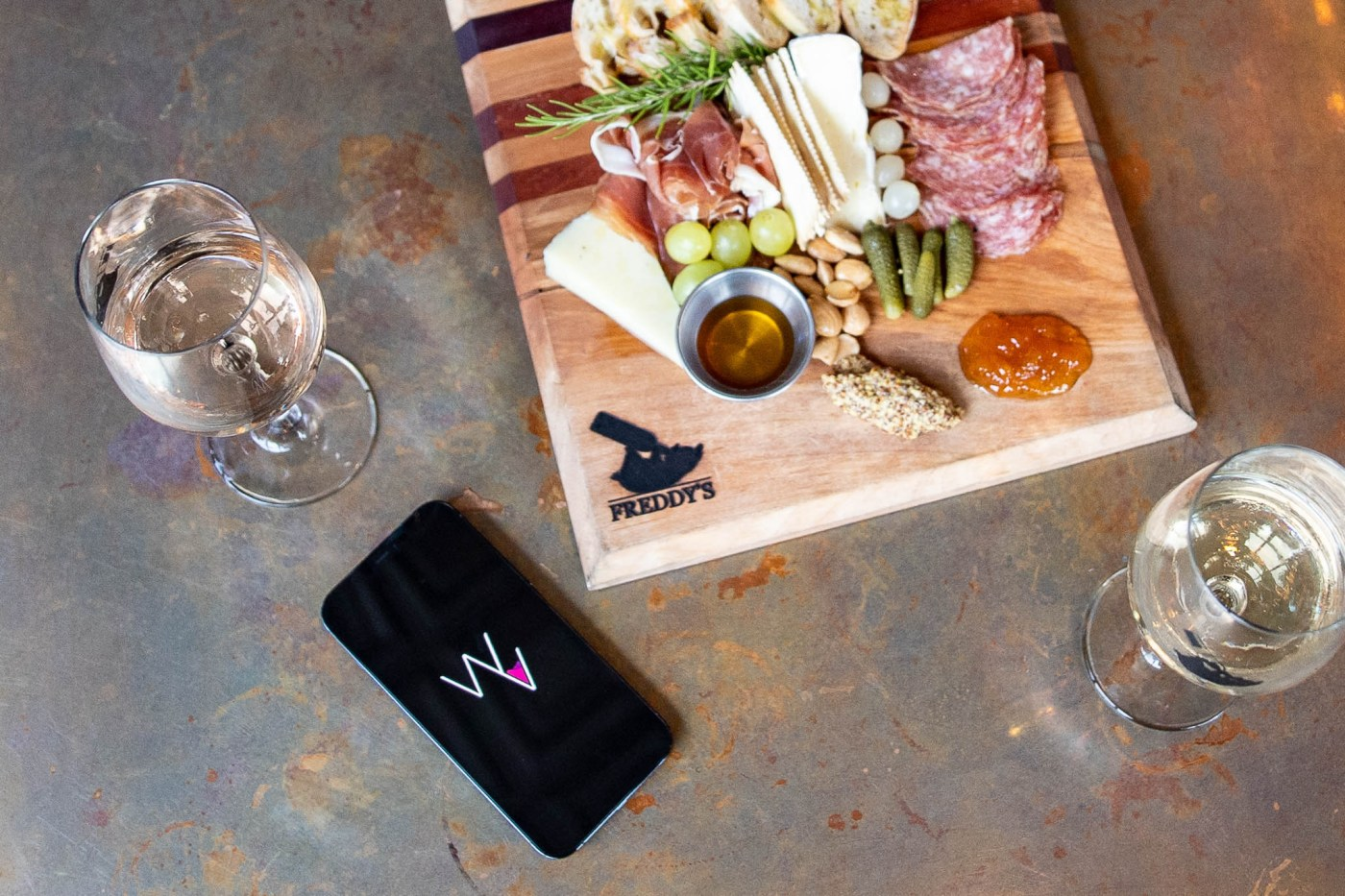 wineview cheese board