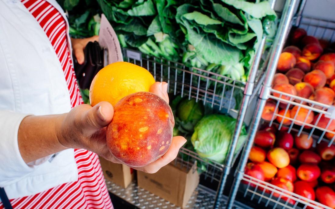 produce display at healthsmart