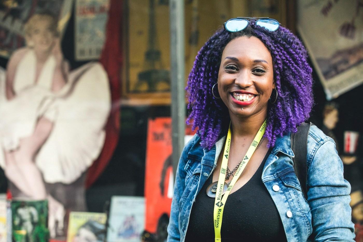 Sidewalk supports local artists of all backgrounds. Photo via Sidewalk Film Festival