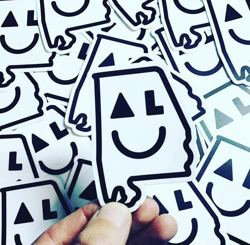 smiley al stickers
