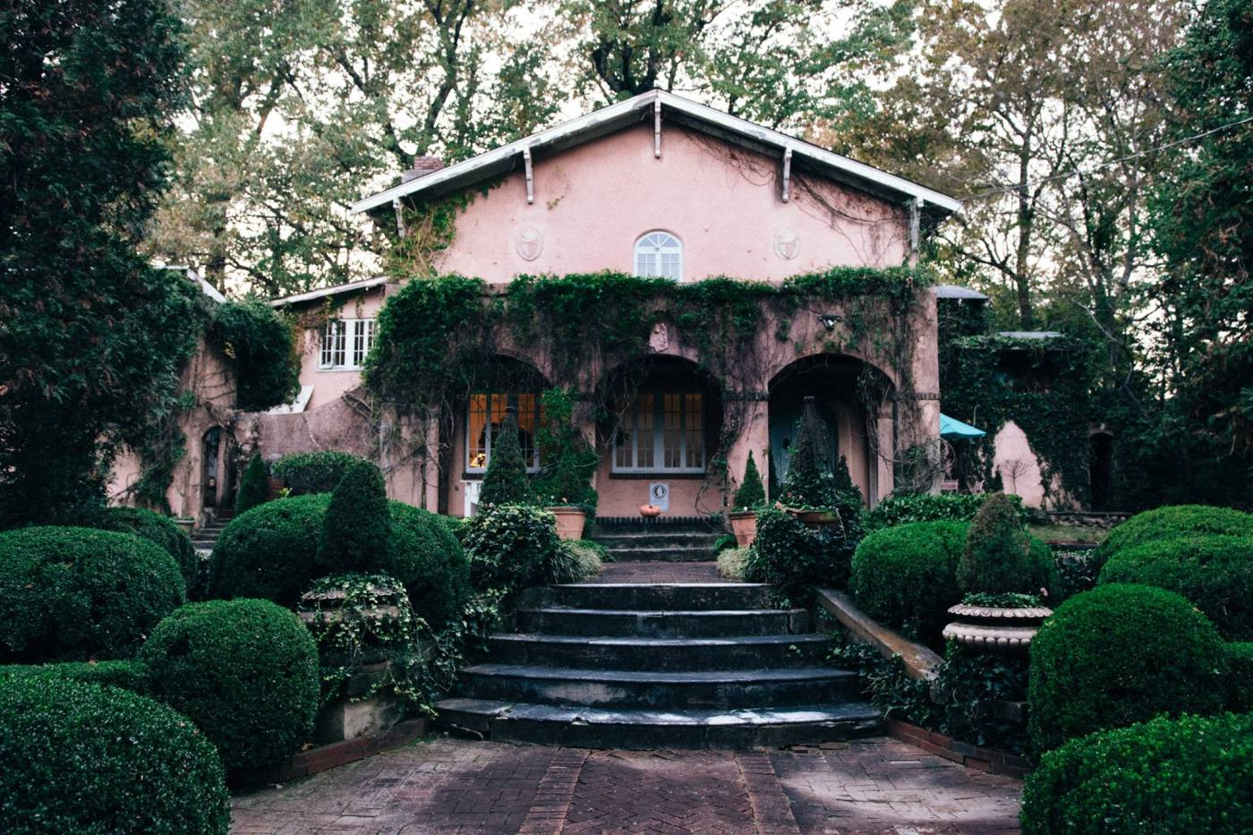 Homewood's Pink House is full of history.