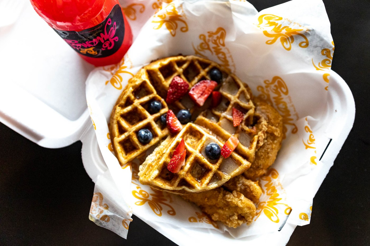 Yo Mama's chicken and waffles - Birmingham waffles