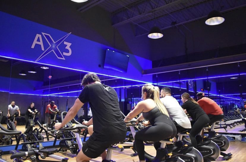 fit fall ax3 class at amped fitness