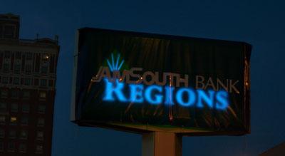 Amsouth/Regions logo