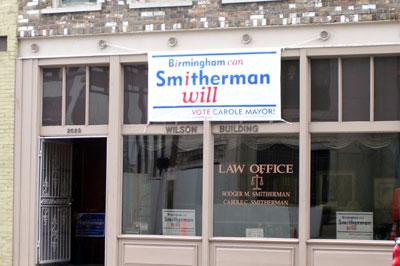 Smitherman's in!
