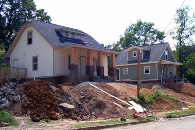 Fountain Heights Nearing Completion