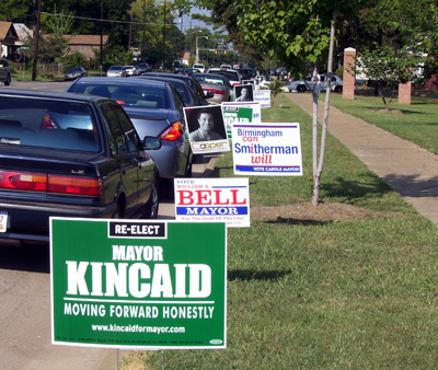 Signs of Election '07