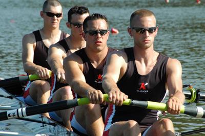 Alabama men's crew team @ SIRA 2006