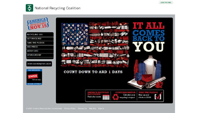 America Recycles Day screenshot