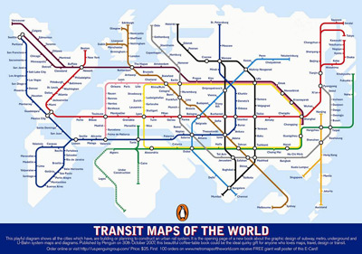 Transit Maps of the World cover