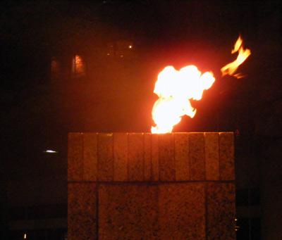 Eternal flame relit