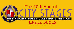 City Stages 2008 logo