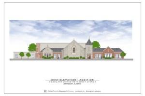 new Woodlawn United Methodist Church Design