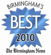 Birmingham's Best 2010 logo. Courtesy of The Birmingham News