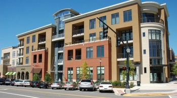 Soho Square development, downtown Homewood. via City-Data.com