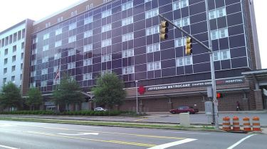 Photo of Cooper Green Mercy Hospital. Courtesy Sharon Phelan Evans.