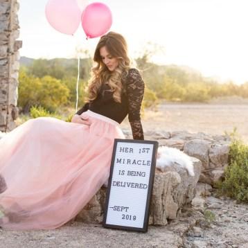 Tasha Root baby announcement photos