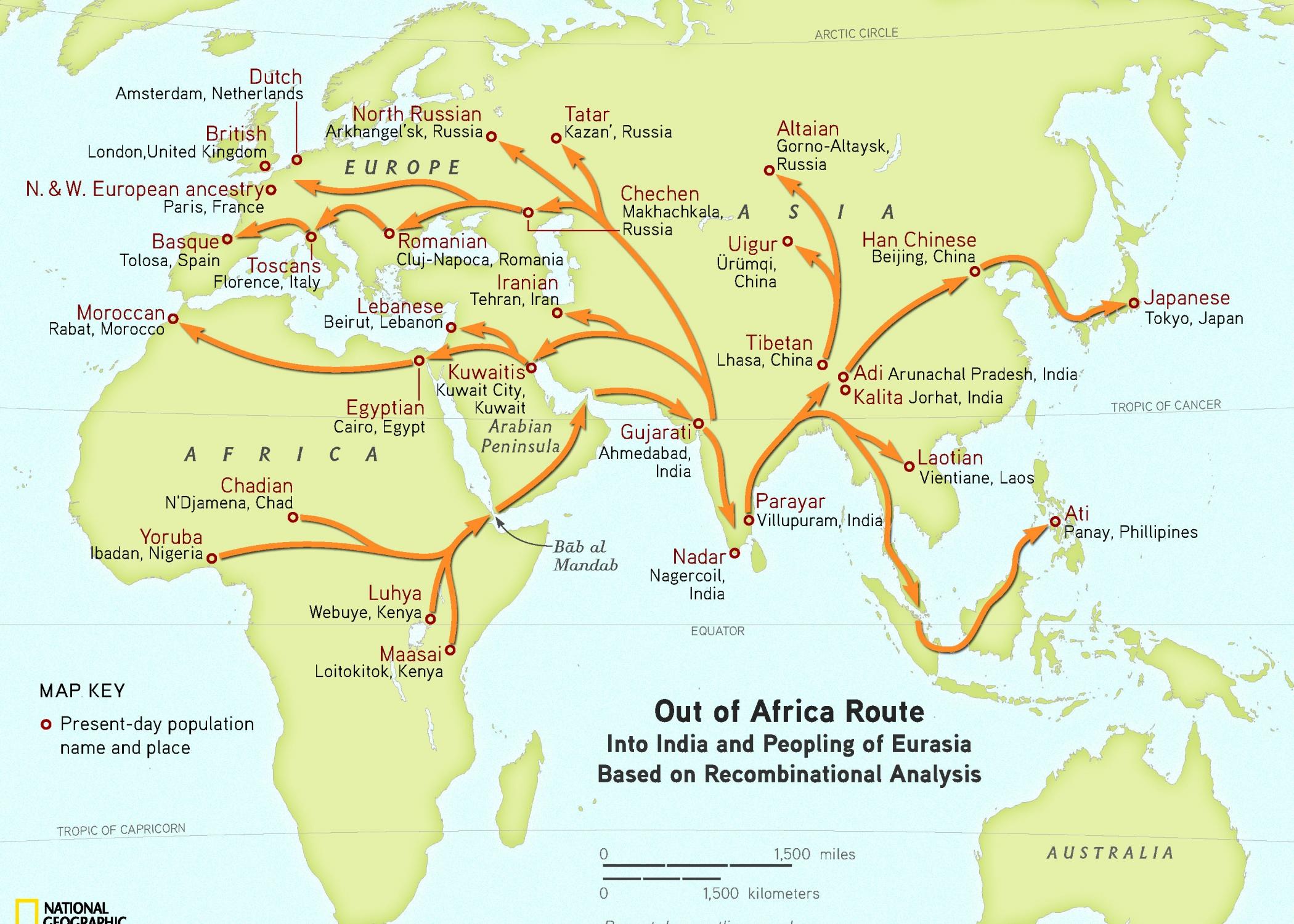 Human Migration Ramani S Blog