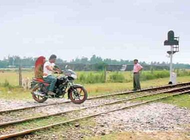 railway crossing accident