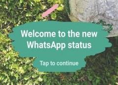 whatsapp status feature