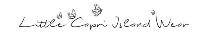 Little Capri Island Wear logo