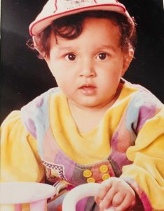 big boss childhood pic shefali bagga