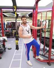 mayur in gym