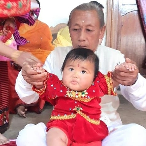 Father Mirabai chanu