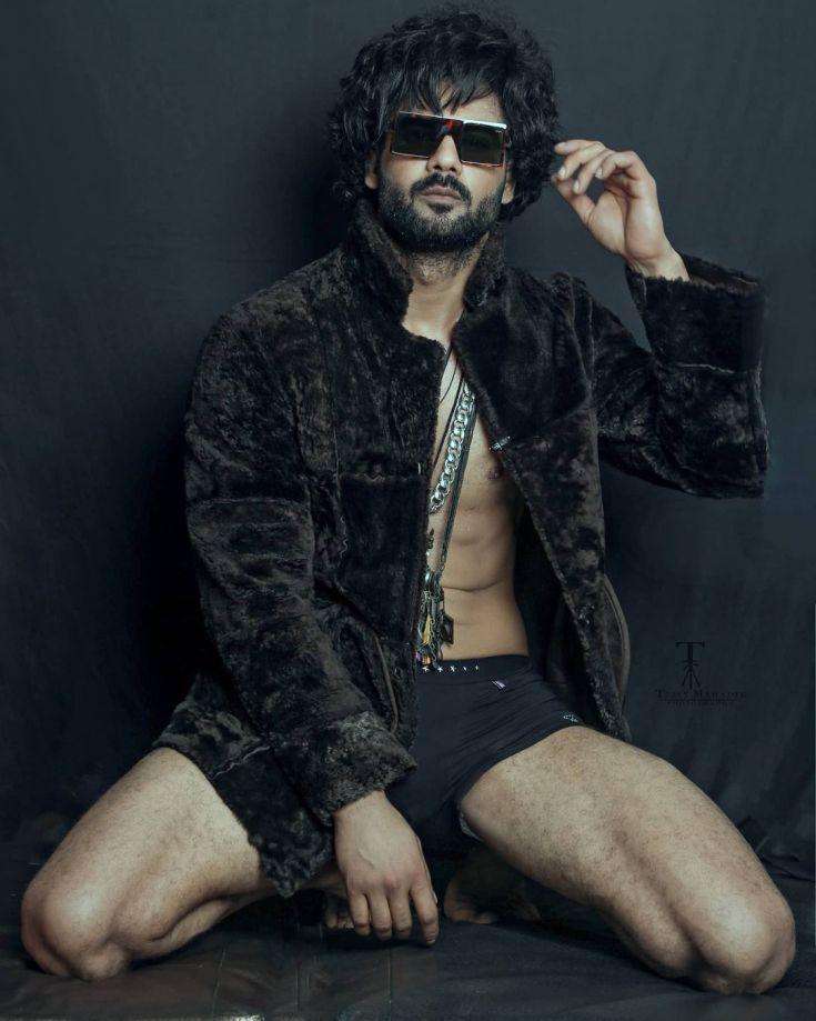 Vishal model Aditya Singh