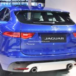 All New Jaguar F Pace Suv Debuts In India At The 2016 Auto Expo