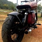 Modified Royal Enfield Thunderbird 350 Called Karma By Puranam Designs