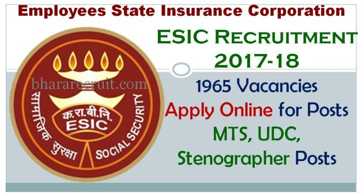 ESIC Recruitment