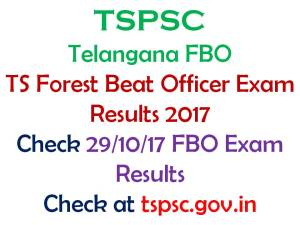 Telangana Forest Beat Officer Results