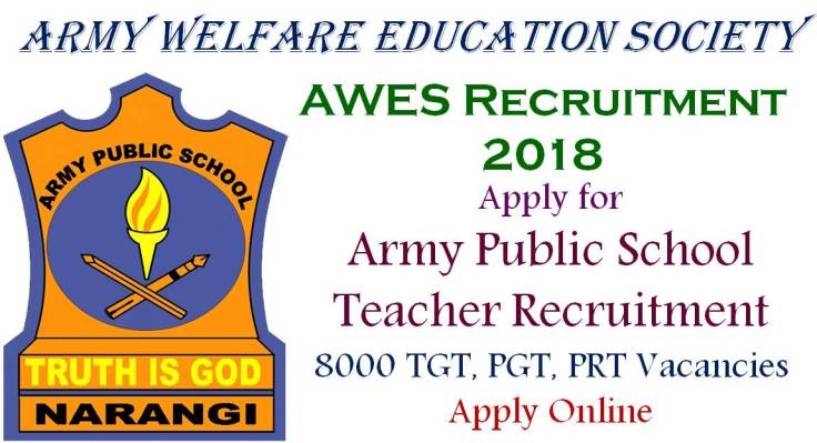 AWES Teacher Recruitment 2018