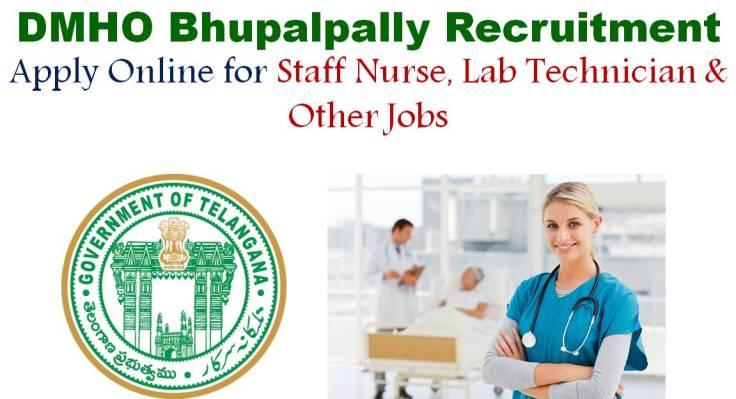 DMHO Bhupalpally Recruitment