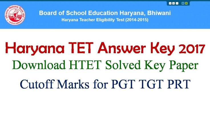 HTET Exam Key Paper