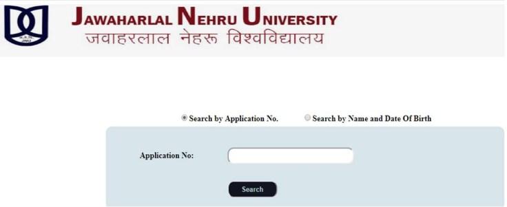 JN University Entrance Exam Admit Cards