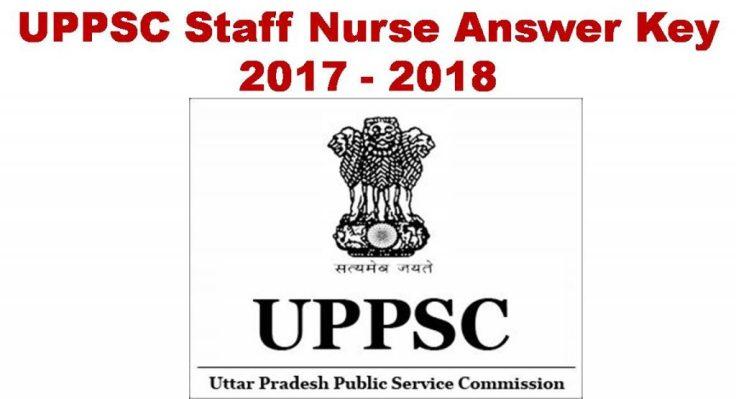 Uttar Pradesh PSC Staff Nurse Exam Key
