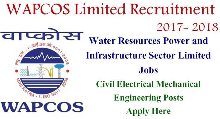 WAPCOS Limited Recruitment