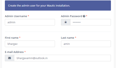 INSTALL MAUTIC ON LINUX (AWS)