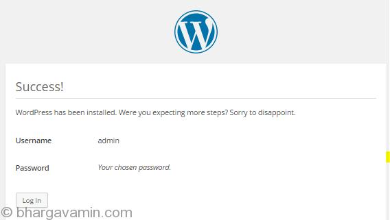 wordpress-success-page