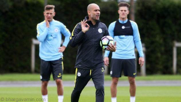 pep-guardiola-training