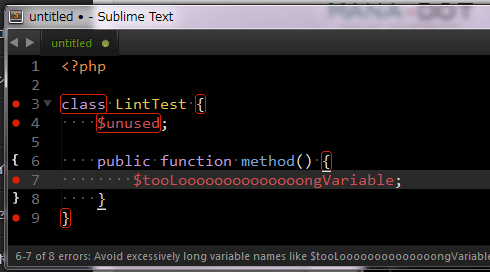 PHPCode Sniffer + Sublime on windows