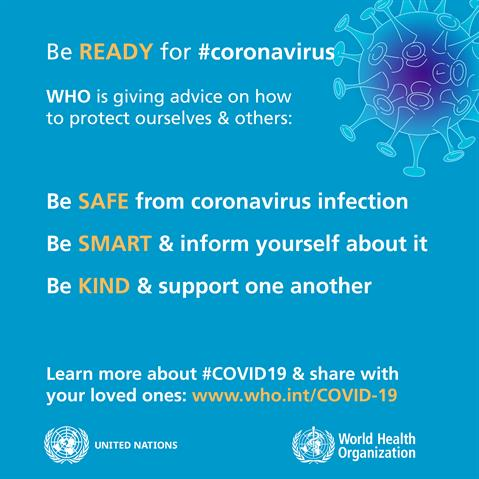 Coronavirus protection measures