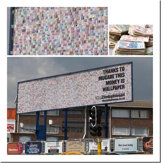 Zimbabwean billboard