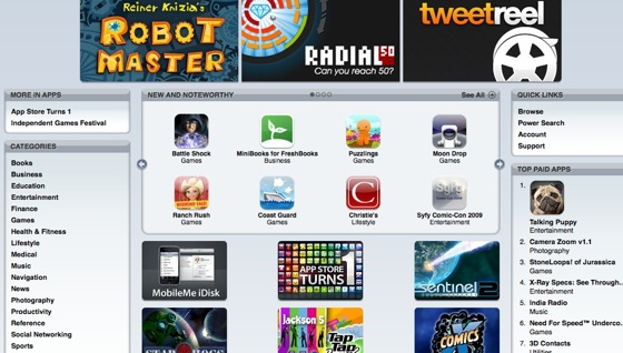 itunes iPhone Apps