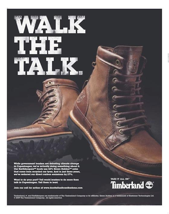 4b1ef3ee555 Timberland walks the talk; asks world leaders to lead | Bhatnaturally