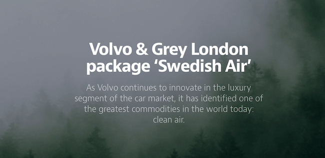 Volvo Swedish Air