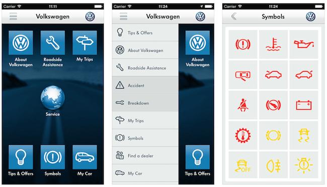 Volkswagen India app
