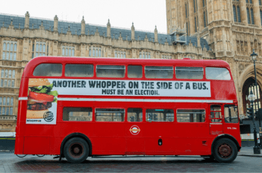 Burger King bus